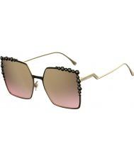 Fendi Señoras ff 0259-s 2o5 53 gafas de sol