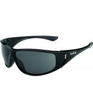 Bolle Highwood negro brillante polarizado gafas de sol tns