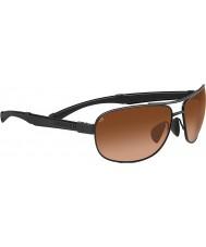 Serengeti Norcia conductores negros gafas de sol del gradiente