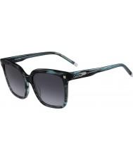 Calvin Klein Collection Señoras ck4323s rayas gafas de sol verdes