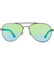 Revo Re1011 bronce raconteur - gafas de sol verdes agua polarizada