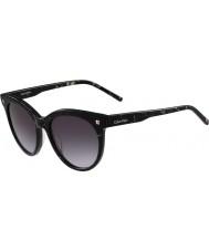 Calvin Klein Collection Señoras de las gafas de sol de carbón ck4324s