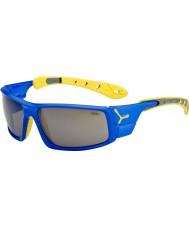Cebe Hielo 8000 gafas de sol amarillas azules eléctricos