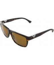 Emporio Armani Ea4035 58 moderno oscuro habana 502683 gafas de sol polarizadas