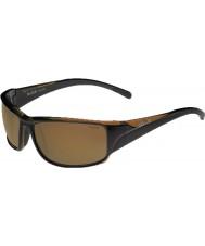 Bolle Keelback brillantes marrones polarizados AG-14 gafas de sol