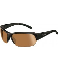 Bolle Ransom gafas de sol de golf brillante modulador negro v3