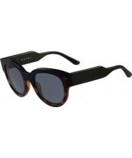 Marni Damas me600s Habana y gafas de sol azules