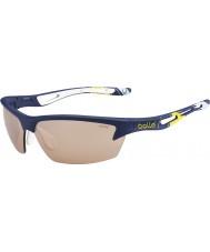 Bolle Perno de la Copa Ryder azul modulador gafas de sol amarillas v3 golf
