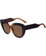 Marni Señoras me601s azul y gafas de sol de color naranja