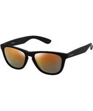 Polaroid P8443 9CA L6 negro gafas de sol polarizadas marrones