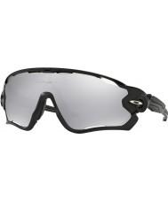 Oakley gafas de sol de cromo iridio ventilados - Oo9290-19 jawbreaker pulido negro