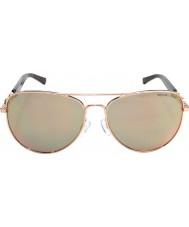 Michael Kors Mk1003 58 Fiji oro 1003r5 gafas de sol se levantó