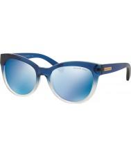 Michael Kors Mk6035 53 mitzi i azul sombreado 312255 gafas de sol de espejo azules