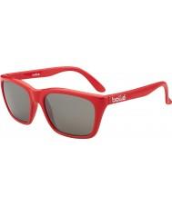 Bolle 527 de recogida de retro brillante camo gafas de sol rojas de armas tns