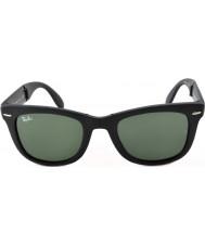 RayBan Rb4105 50 plegables caminante mate negro gafas de sol 601S
