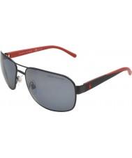 Polo Ralph Lauren Ph3093 62 vida casual de color negro mate 927781 gafas de sol polarizadas