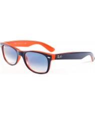 RayBan RB2132 52 nueva tapa caminante azul-naranja 789-3f gafas de sol