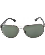 RayBan Rb3502 61 highstreet GunMetal 004-58 gafas de sol polarizadas