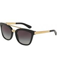 Dolce and Gabbana Dg4269 54 gafas de sol negras 501-8g