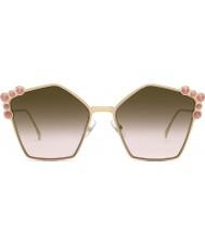 Fendi Las señoras ff0261 s 0 53 57 pueden gafas de sol