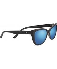 Serengeti Sophia brillante negro 555nm polarizada las gafas de sol de espejo azul