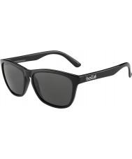 Bolle 437 tns retro negro brillante colección gafas de sol polarizadas