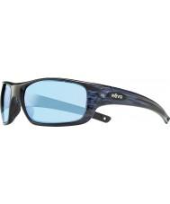 Revo Re4073 guía ii marino vetas de la madera - agua polarizado gafas de sol azules