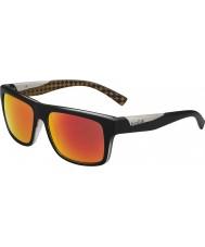 Bolle naranja negro gafas de sol polarizadas TNS fuego Clint mate
