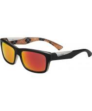 Bolle naranja negro gafas de sol polarizadas TNS fuego Jude mate