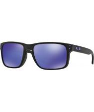 Oakley gafas de sol violeta de iridio - negro Oo9102-26 Holbrook Julian Wilson mate