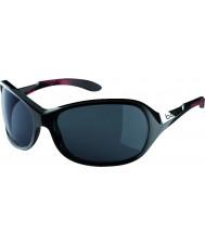 Bolle Gracia brillante coral negro gafas de sol polarizadas tns
