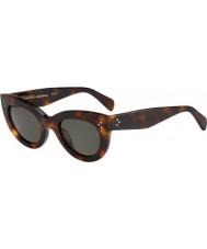 Celine Damas cl 41050-s gafas de carey 05L 1e
