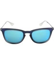 RayBan Rb4221 50 joven disparó goma azul 617055 gafas de sol