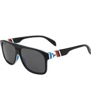 Cebe Chicago negro FRENCHY 1500 gafas de sol de espejo gris de flash