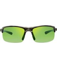 Revo quid Re4066 n vetas de la madera en crudo - gafas de sol verdes agua polarizada