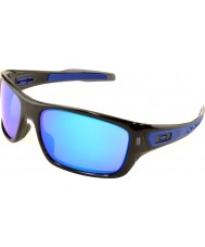 Oakley Oo9263-05 turbina de tinta negro - las gafas de sol de zafiro de iridio