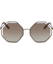 Chloe Señoras ce132s 205 58 gafas de sol de amapola