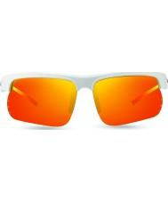 Revo cúspide Re1025 s blanco - naranja gafas de sol polarizadas solares