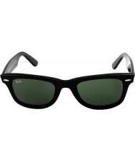 RayBan Rb2140 original wayfarer negro - verde