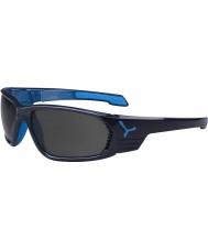 Cebe S-Cape gran antracita gafas de sol polarizadas azules