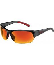 Bolle gafas de sol polarizadas TNS fuego rescate de raso de cristal gris