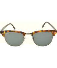 RayBan RB3016 51 clubmaster manchado azul Habana 1158r5 gafas de sol