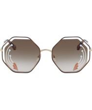 Chloe Señoras ce132sri 258 58 gafas de sol de amapola