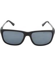 Polo Ralph Lauren Ph4088 55 mate gris negro 528481 gafas de sol polarizadas