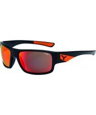 Cebe gafas de sol de color naranja negro mate Whisper