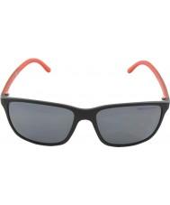 Polo Ralph Lauren Ph4092 58 negro mate 550481 gafas de sol polarizadas