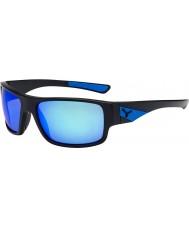 Cebe Susurro negro mate gafas de sol azules