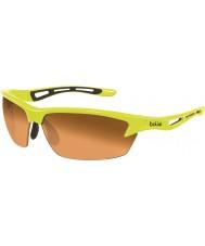 Bolle Perno de neón gafas de sol de color ámbar amarillo modulador