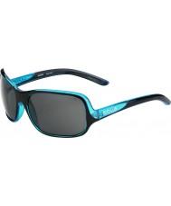 Bolle Kassia brillante azul negro polarizado gafas de sol tns