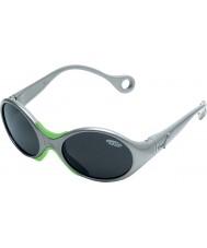 Cebe 1973 (edad 1-3) 2000 gafas de sol grises gris metálico brillante